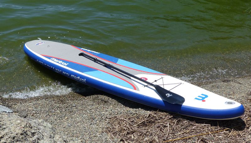 Product Review: Mistral 11-5 Adventure Inflatable SUP Paddle Board