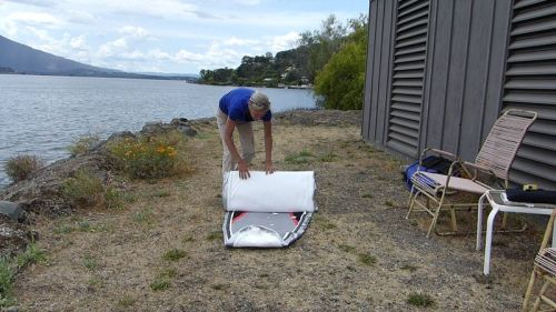 Packing up the sup