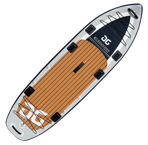New AquaGlide Blackfoot Inflatable Angler Paddle Board
