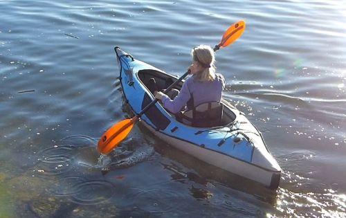 Sneak Preview: New AE1017DS AdvancedFrame Sport Hi-Pressure Kayak