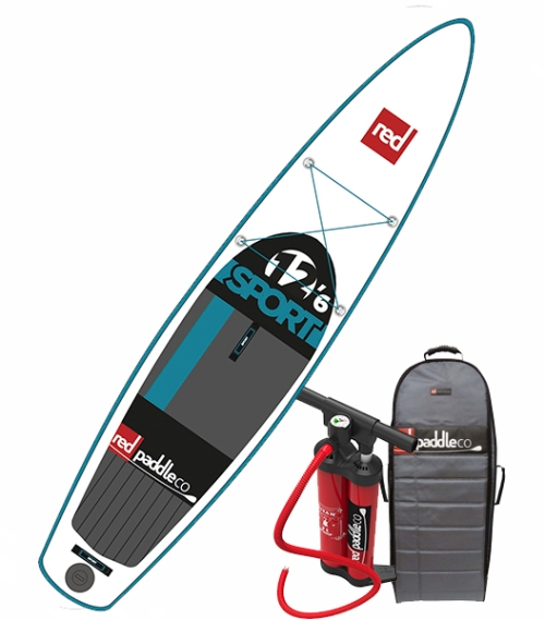2016 Red Paddle Co 12-6 Sport Inflatable SUP