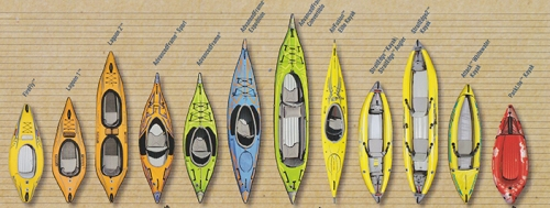 2016 Advanced Elements Kayak Lineup