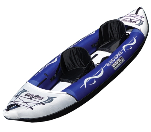 Island Voyage Inflatable Tandem Kayak