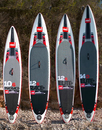 Red Paddle Co's racing inflatable SUPS for 2016