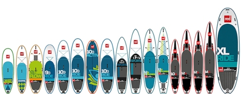 2016 Red Paddle Co Inflatable SUP Lineup