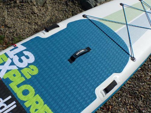 Diamond pattern deck pad