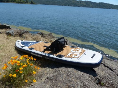 Blackfoot Angler SUP with an optional seat.