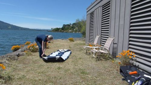 Unrolling the Blackfoot SUP body