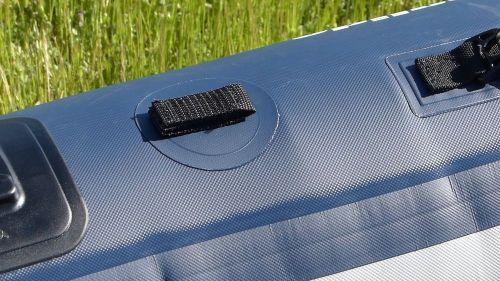 Velcro paddle holder
