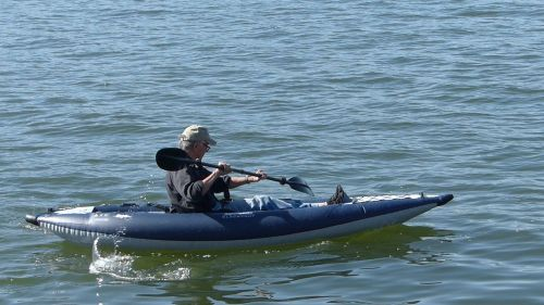 AquaGlide Blackfoot SL on the water