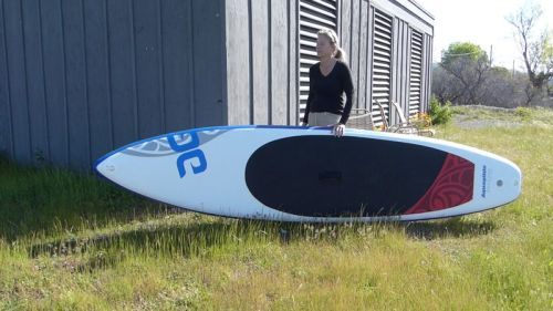 Cascade 12-0 inflatable paddle board from Aquaglide