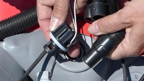 Innova adaptor and Boston valve fitting