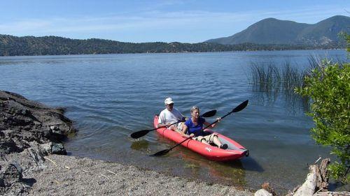 Twist II LN paddled as a tandem.