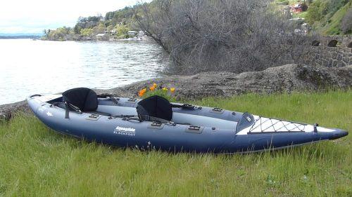 AquaGlide Blackfoot Angler XL set up as a tandem.