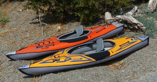 Sport versus the AdvancedFrame kayak