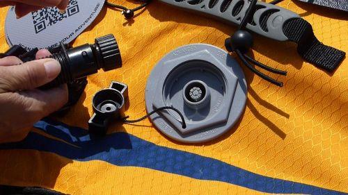 Military valve and adaptor