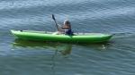 Solar 410C paddled solo.
