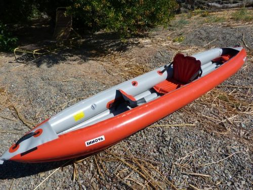 Innova Sunny inflatable kayak for 1 or 2 paddlers