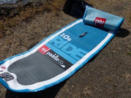 Unfold the board body