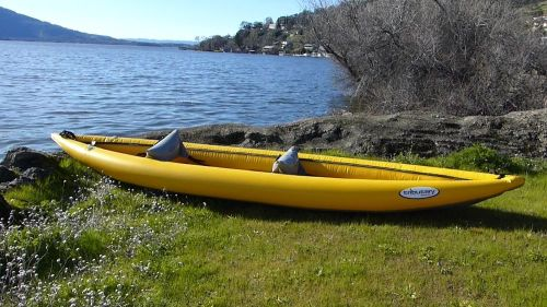 Aire Tributary Sawtooth Inflatable Kayak.