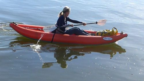 Product Review Aire Tributary Strike Solo Inflatable Kayak Airkayaks Com