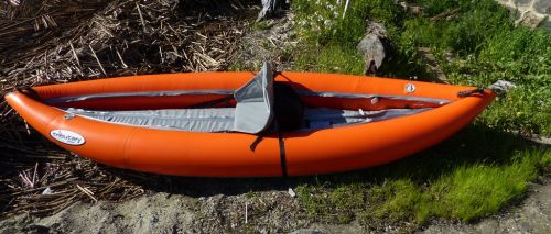 Aire Tributary Strike Solo inflatable kayak