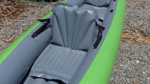 Inflatable seat.