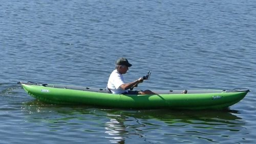 Innova Solar 410C paddled solo