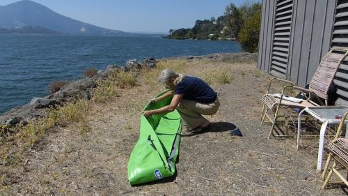 Unfolding the kayak