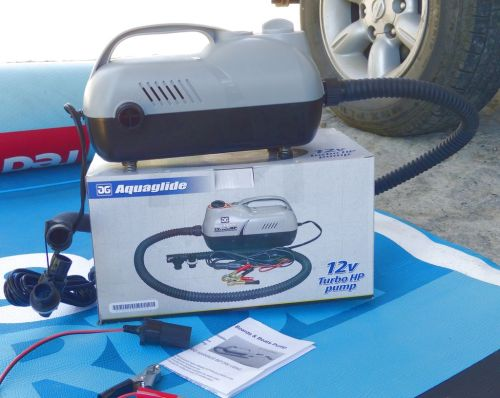 AquaGlide 12V Turbo HP Electric Pump