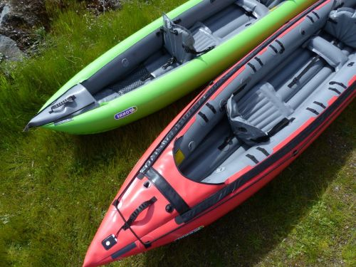 Innova Inflatable Kayaks: Seawave vs Solar 410C