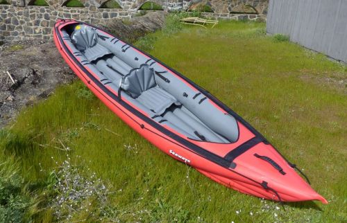 Innova Seawave touring kayak set us as a tandem.