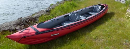 Product Review: New Innova Seawave Inflatable Touring Kayak