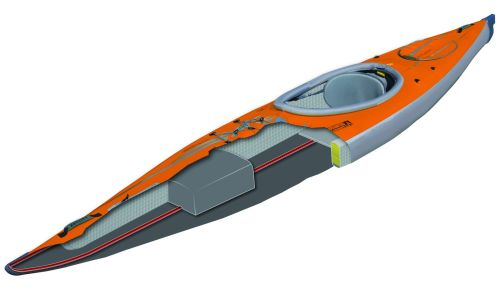 Advanced Elements AirFusion EVO Inflatable Kayak - Cross Section