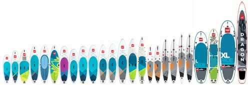 Red Paddle Co 2018 Lineup