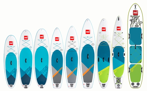 2018 Red Paddle Co Recreational SUP Line