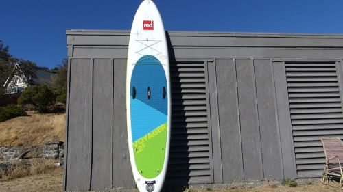 "Red Paddle Voyager 12'6"" inflatable SUP"