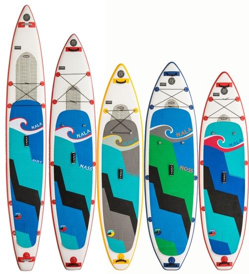 Hala Carbon Construction Paddle Boards