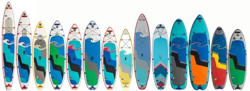 Hala 2018 Inflatable SUP Lineup