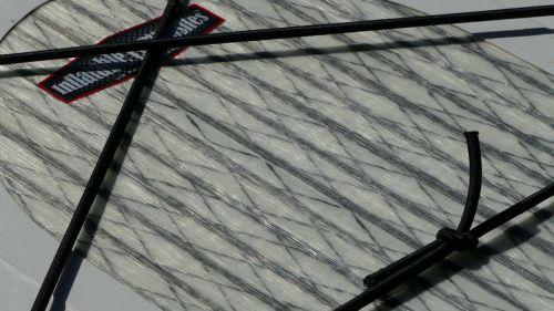Woven carbon stringer