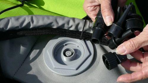 Boston valve and screw on adaptors