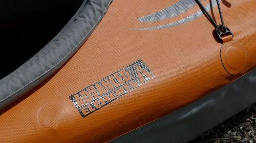 Semi-smooth polyurethane tarpaulin outer skin.