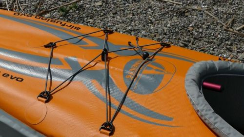 Front bungee decklacing