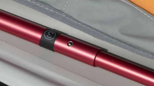 Botom pole with sleeve insert