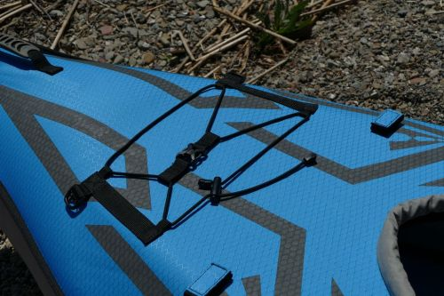 Front bungee deck lacing