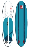 Top and underside views of Red Paddle Co's new Compact inflatable SUP