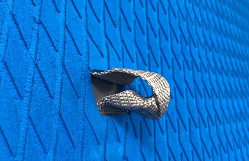 Woven mesh d-ring
