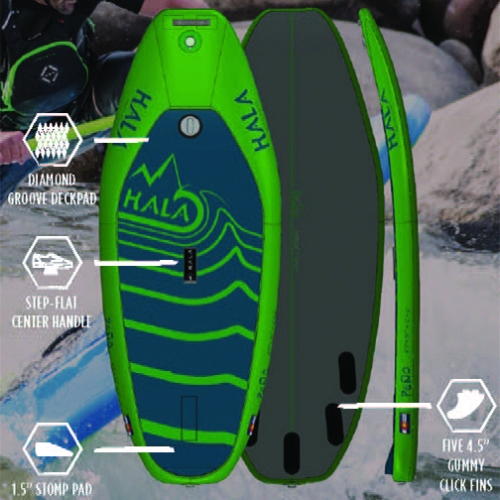 Hala Pena Surf Board