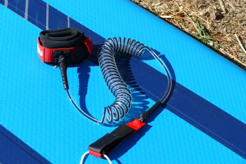 Red Paddle Co Coiled Leash