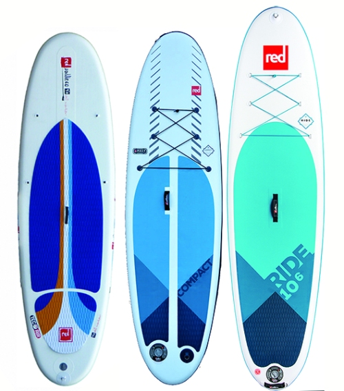 Red Paddle AllWater, Compact and Ride 10-6